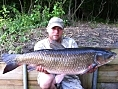 Alan Jackson, 16th Jun<br /><font color=black>30lb+ grass carp</font>