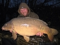 Mark Wilson, 25th Jan<br /><font color=black>35lb 12oz mirror</font>